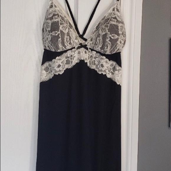 BOGO Victoria's Secret Slip lingerie black lace